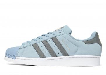 Adidas Originals Superstar Suede Homme Bleu Chaussures de Fitness