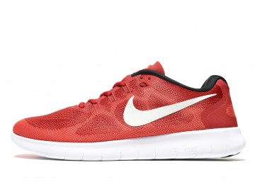Nike Free RN 2 Homme Rouge Chaussures de Fitness