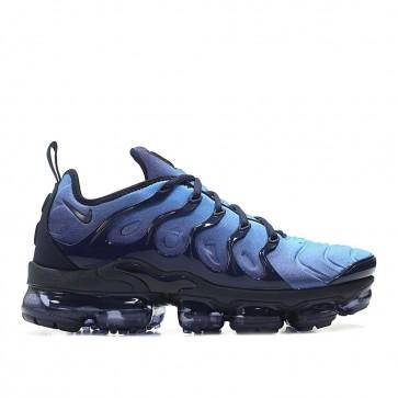 Homme Nike Air Vapormax Plus TN Chaussures de Fitness 924453-401 Obsidienne/Obsidienne-Photo Bleu-Noir