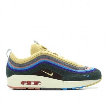 Nike Air Max 1/97 VF 'Sean Wotherspoon' Chaussures De Sport Homme AJ4219-400 Beige/De Blanc/Multi