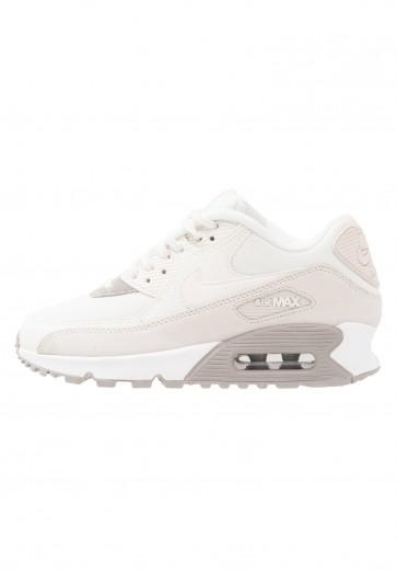 Nike Footwear Air Max 90 - Chaussures de Sport Basse/Faible - Bleu Clair/Brun/Voile/Pavé/Blanc - Femme