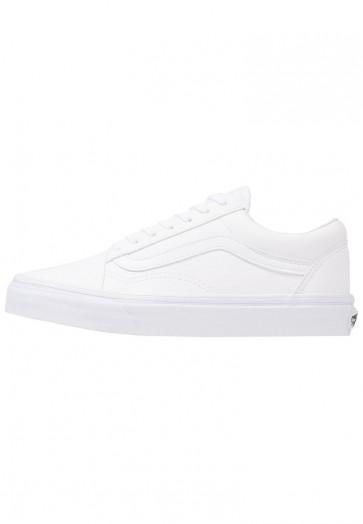 Vans Old Skool - Chaussures de Sport Basse/Faible - Blanc Sommet - Femme/Homme