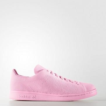 Femme Adidas Stan Smith Primeknit chaussures de sport - Lueur semi-rose/Rose