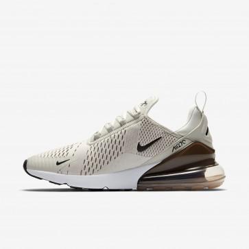 Homme Nike Air Max 270 Chaussures de Fitness AH8050-007 Beige Clair/Pierre Sépia/Blanc/Noir