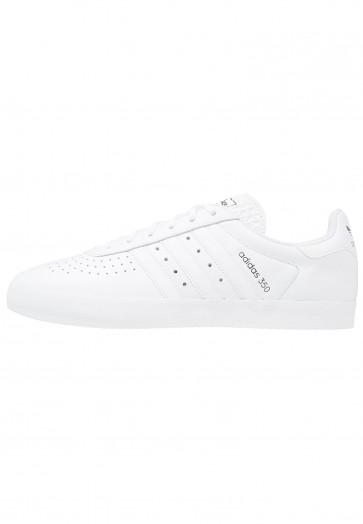 Adidas Originals 350 - Chaussures de Sport Basse/Faible - Blanc/Noir Noyau - Femme/Homme