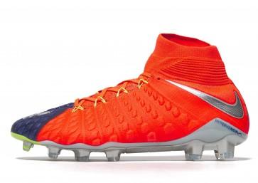 Nike Time To Shine Hypervenom Phantom III DF FG Homme Bleu Chaussures de Fitness