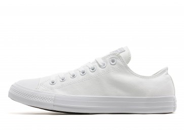 Converse All Star Ox Monochrome Homme Blanc Chaussures de Fitness