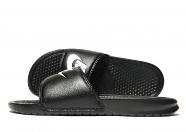 Nike Sandales Benassi Just Do It Homme Noir Chaussures de Fitness