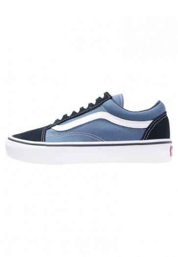 Vans Old Skool - Chaussures de Patineur - Marin/Bleu Marin - Femme/Homme