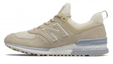 Chaussures pour femme New Balance 574 Sport Beige/Blanche Crème/Gris Argenté