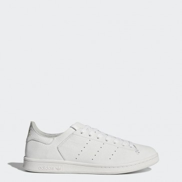 Fashion chaussures de ville Adidas Stan Smith Leather Sock pour femme - Blanc pur