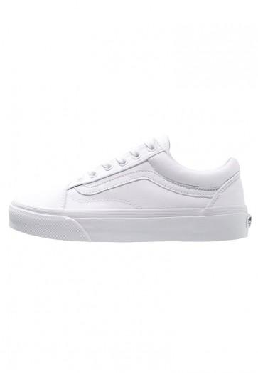 Vans Old Skool - Chaussures de Patineur - Blanc Sommet - Femme/Homme