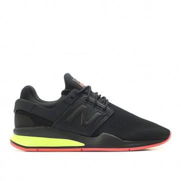 Chaussures pour homme New Balance MS247 TT Sport Noir/Néon Rouge/Jaune 655711-60-8