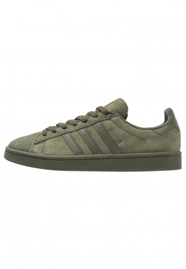 Adidas Originals Campus - Chaussures de Sport Basse/Faible - Vert Ardoise - Femme/Homme
