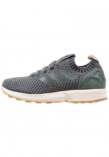 Adidas Originals ZX Flux PK - Chaussures de Sport Basse/Faible - Gris Foncé/Ivy Utilitaire - Femme/Homme