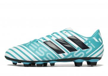 Adidas Ocean Storm Nemeziz 17.4 FG Messi Homme Blanc Chaussures de Fitness