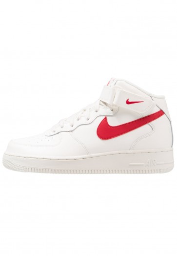 Nike Footwear Air Force 1 Mid - Chaussure de Running Haute/High - Voile/Violet/Rouge - Homme