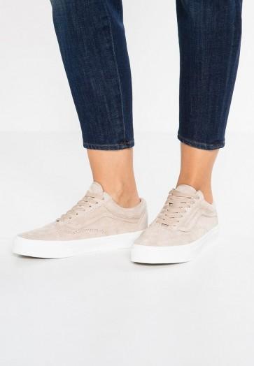 Vans Old Skool - Chaussures de Sport Basse/Faible - Blanc - Femme