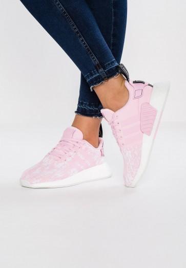 Adidas Originals NMD_R2 - Chaussures de Sport Basse/Faible - Rose - Femme