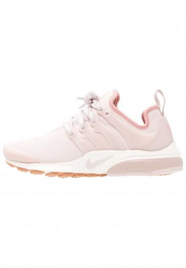 Nike Footwear Air Presto Premium - Chaussures de Sport Basse/Faible - Gris Boue/Rouge Poussière D'étoile/Voile/Brun Moyen - Femme
