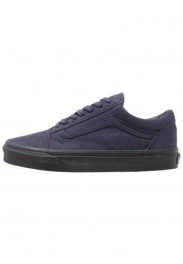 Vans Old Skool - Chaussures de Sport Basse/Faible - Marin/Bleu Marin/Noir - Femme/Homme