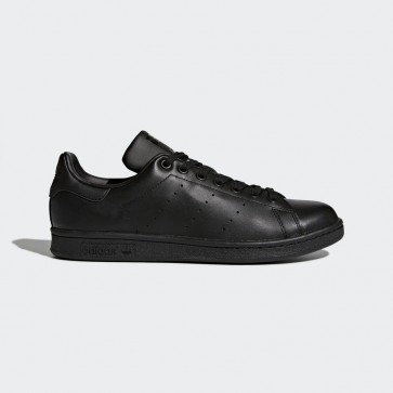 Originals Adidas Stan Smith chaussures chaussure pour femme - Cuir pleine fleur noyau noir