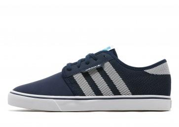 Adidas Originals Seely Weave Homme Bleu Chaussures de Fitness