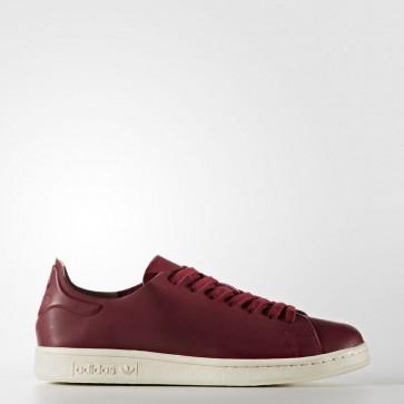 Femme Adidas Originals Stan Smith Nude chaussures de ville - Collegiate Bourgogne/Rouge foncé/Blanc naturel