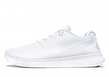 Nike Free RN 2 Homme Blanc Chaussures de Fitness