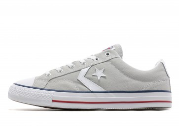 Converse Star Player Ox Homme Gris Chaussures de Fitness