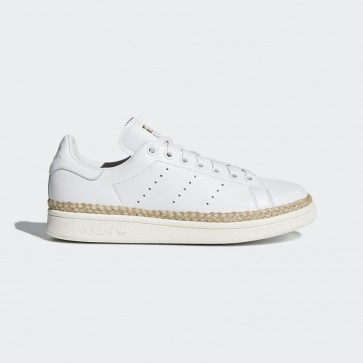 Adidas cuir Chaussure pour femmes Stan Smith New Bold - Blanc(Off White)