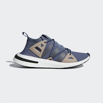 Femme Adidas Originals DA9606 Arkyn baskets de course raw steel/grey five/ash pearl/violet/noir/kaki