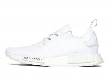 Adidas Originals NMD_R1 Primeknit Homme Blanc Chaussures de Fitness
