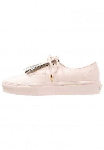 Vans Authentic Fringe DX - Chaussures de Sport Basse/Faible - Rose Murmure/Or - Femme