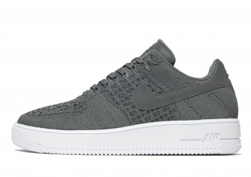 Nike Air Force 1 Flyknit Homme Gris Chaussures de Fitness