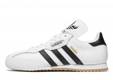 Adidas Originals Samba Super Homme Blanc Chaussures de Fitness