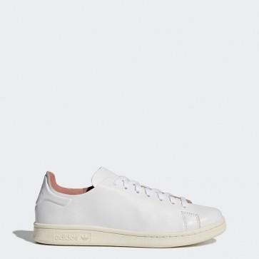 Femme Adidas Stan Smith Nude chaussures de sport - Blanc pur/Craie blanche/Rose glacé