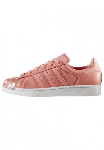 Adidas Originals Superstar 80S - Chaussures de Sport Basse/Faible - Rose Tactile/Blanc - Femme