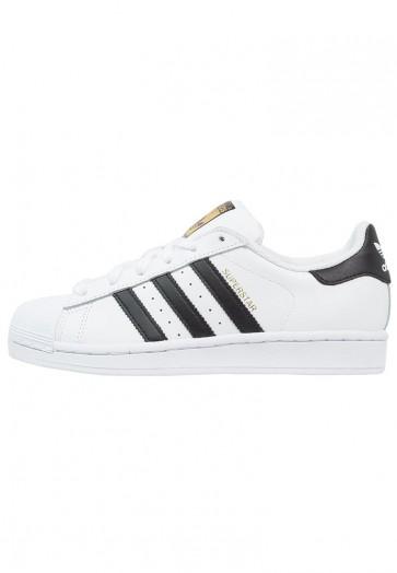 Adidas Originals Superstar - Chaussures de Sport Basse/Faible - Blanc/Noir Noyau - Femme/Homme