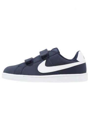Nike Footwear Court Royale (PSV) - Chaussures de Sport Basse/Faible - Obsidienne/Blanc - Enfant