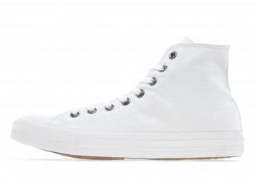 Converse Baskets Montantes All Star Mono Homme Blanc Chaussures de Fitness