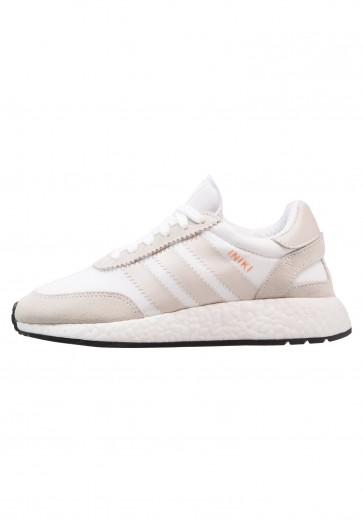 Adidas Originals Iniki Runner - Chaussures de Sport Basse/Faible - Blanc/Gris Perle/Noir Noyau - Femme/Homme