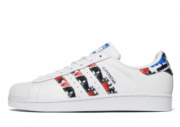 Adidas Originals Superstar Homme Blanc Chaussures de Fitness