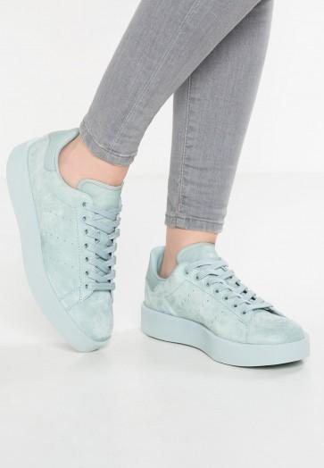 Adidas Originals Stan Smith Bold - Chaussures de Sport Basse/Faible - Vert Tactile - Femme