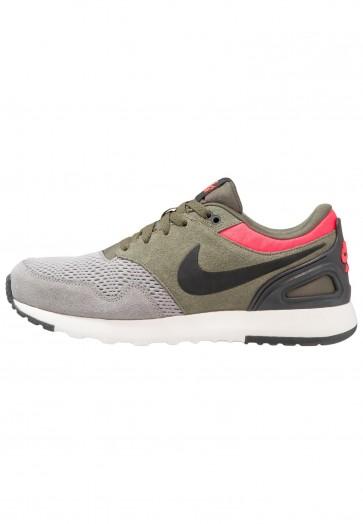 Nike Footwear Air Vibenna SE - Chaussures de Sport Basse/Faible - Gris Poussière/Noir/Kaki/Rouge Solaire - Homme