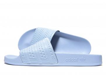Adidas Originals Sandales Adilette Homme Bleu Chaussures de Fitness
