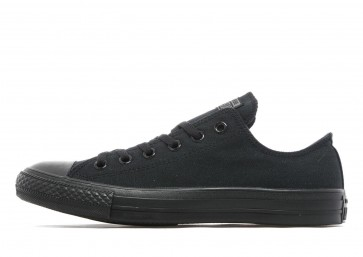 Converse All Star Ox Monochrome Homme Noir Chaussures de Fitness