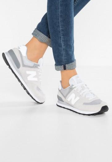 New Balance WL574 - Chaussures de Sport Basse/Faible - Gris - Femme