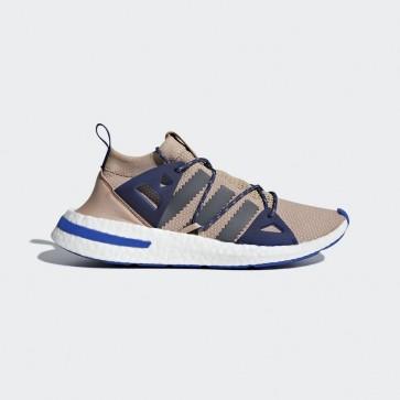 Femme Adidas Originals DA9604 Arkyn baskets de course ash pearl/grey five/noble indigo/beige foncé/gris argent/bleu nuit