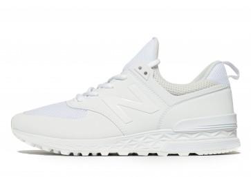 New Balance 574 Sport Homme Blanc Chaussures de Fitness